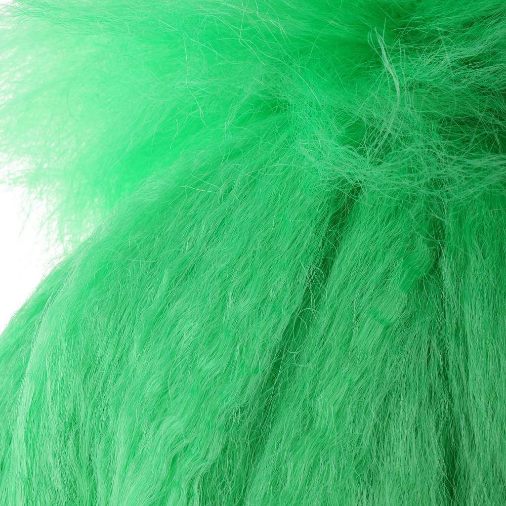 Cute-Flame-Troll-Short-Wig-Cosplay-Party-Costume-Fancy-Dress-Magic-Pixie-Elf-Wig thumbnail 10