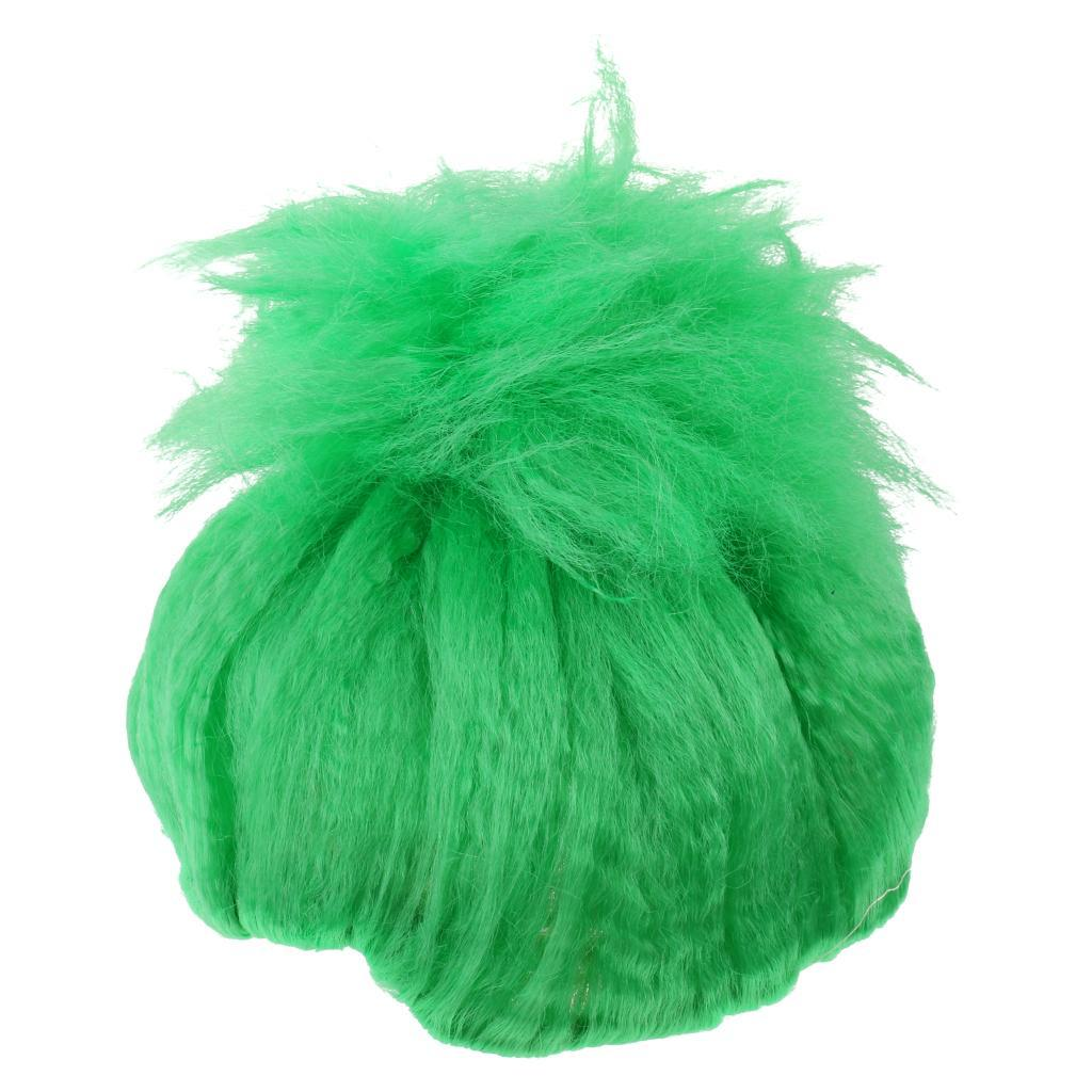 Cute-Flame-Troll-Short-Wig-Cosplay-Party-Costume-Fancy-Dress-Magic-Pixie-Elf-Wig thumbnail 14