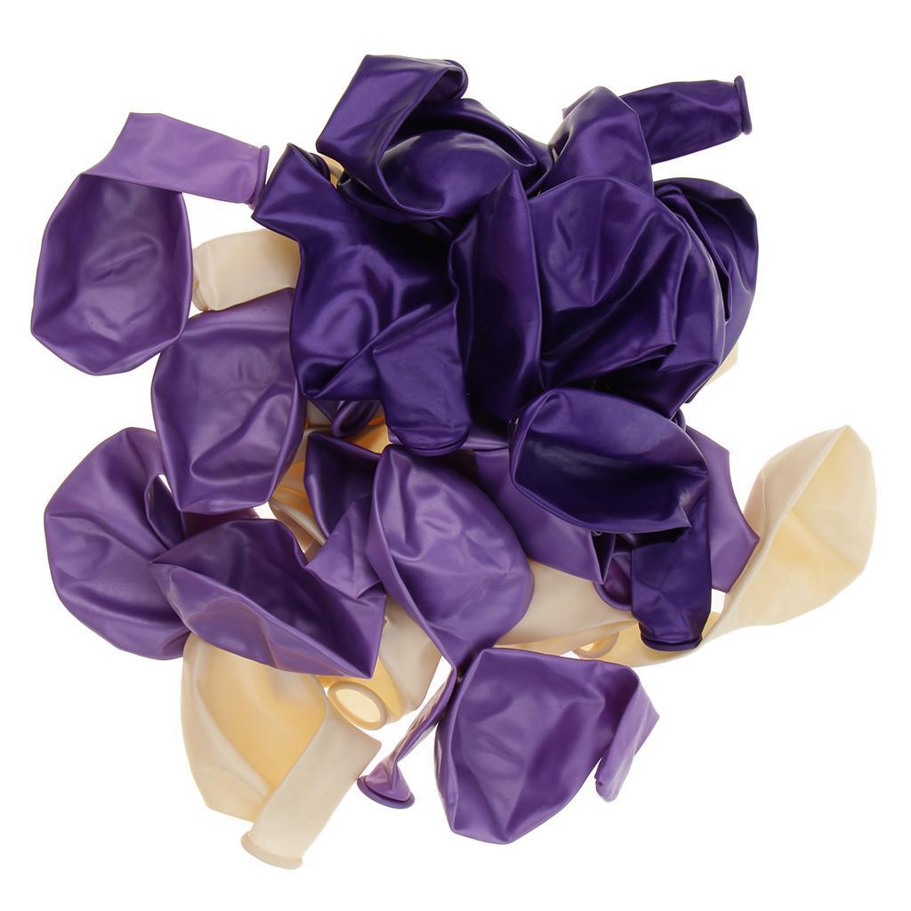 30-Pieces-Ballon-de-Latex-Decoration-pour-Fete-d-039-Anniversaire-Mariage miniature 13