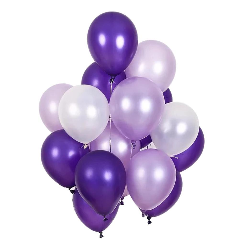 30-Pieces-Ballon-de-Latex-Decoration-pour-Fete-d-039-Anniversaire-Mariage miniature 15