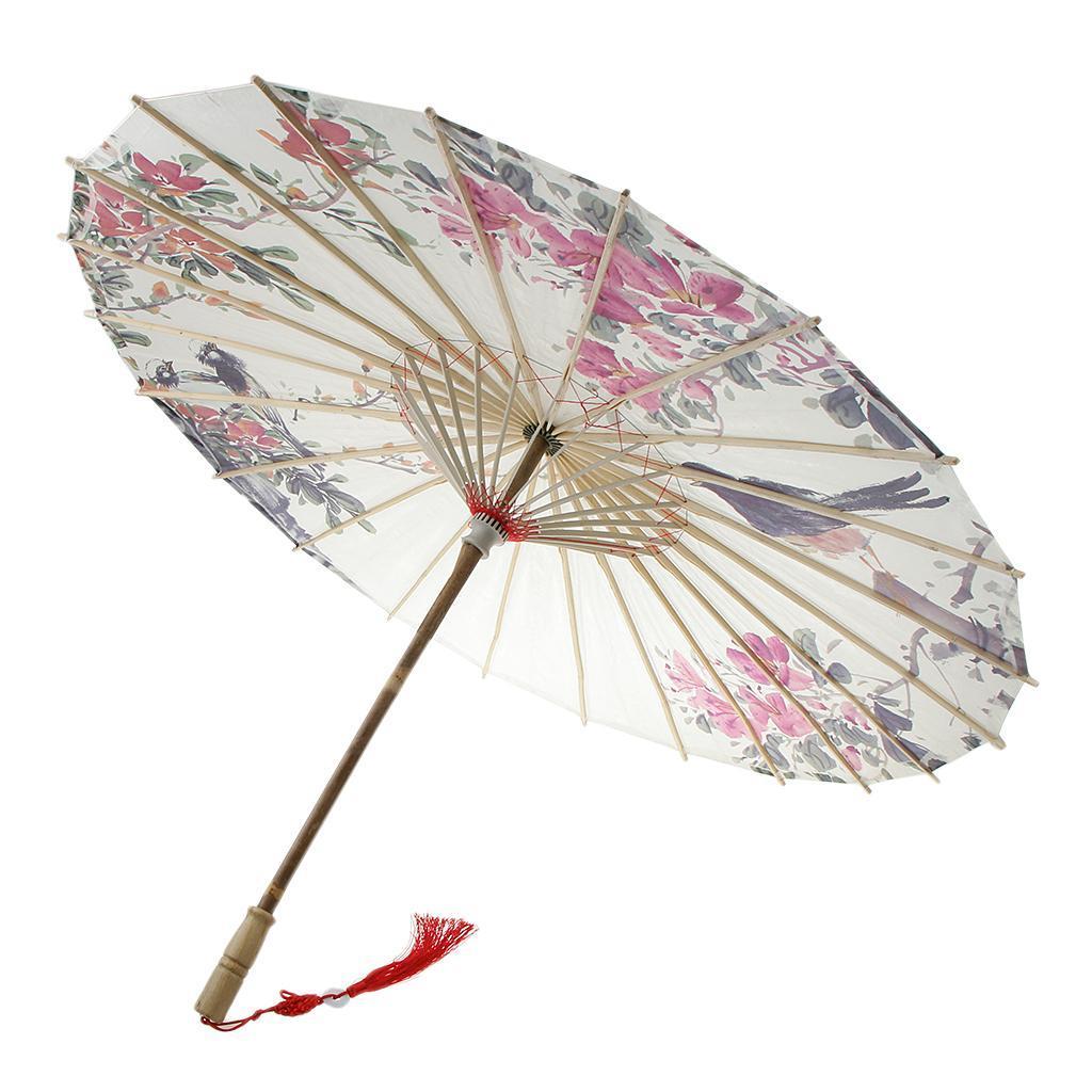 Parapluie-Chinois-Parasol-De-Mariage-Maison miniature 23