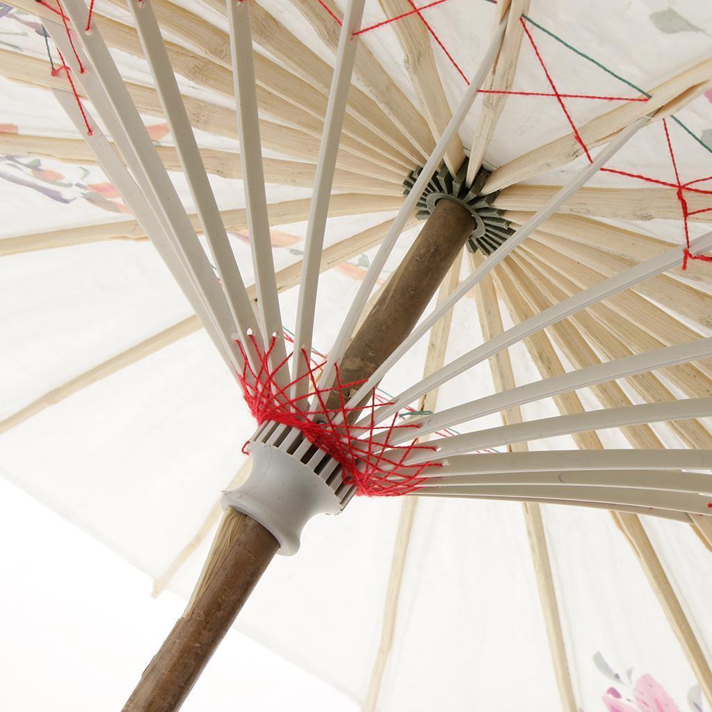 Parapluie-Chinois-Parasol-De-Mariage-Maison miniature 24