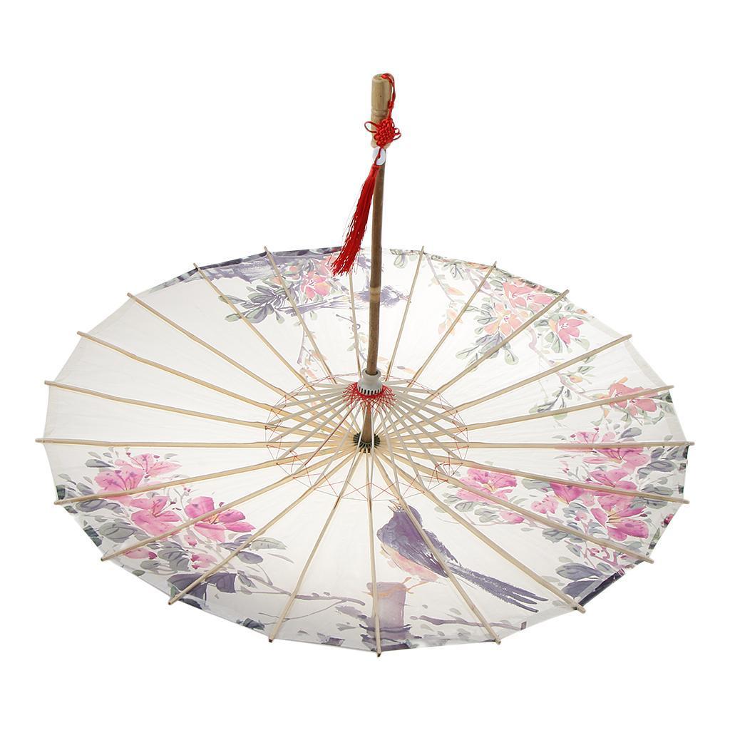 Parapluie-Chinois-Parasol-De-Mariage-Maison miniature 25