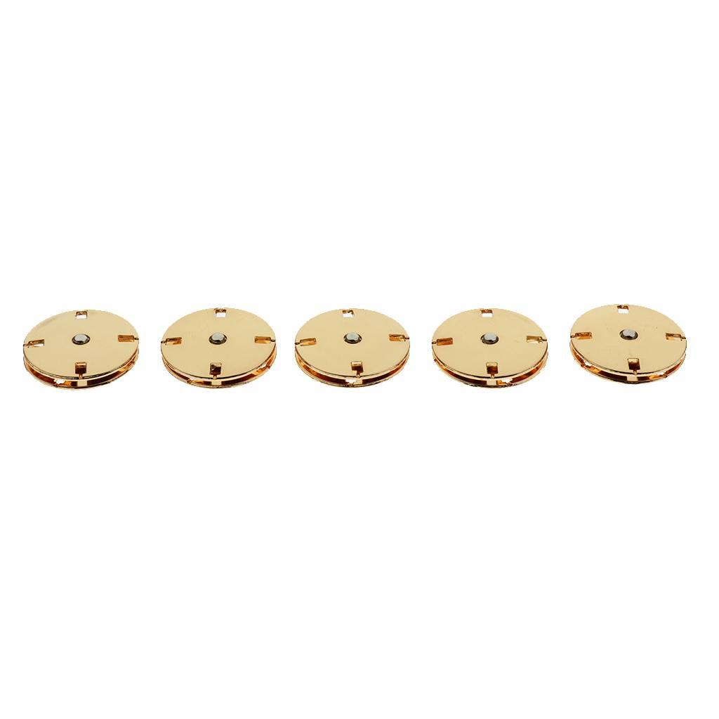 5-Sets-Metal-Press-Stud-Buttons-Snap-Fasteners-Poppers-Clothing-Snap-Buttons thumbnail 15