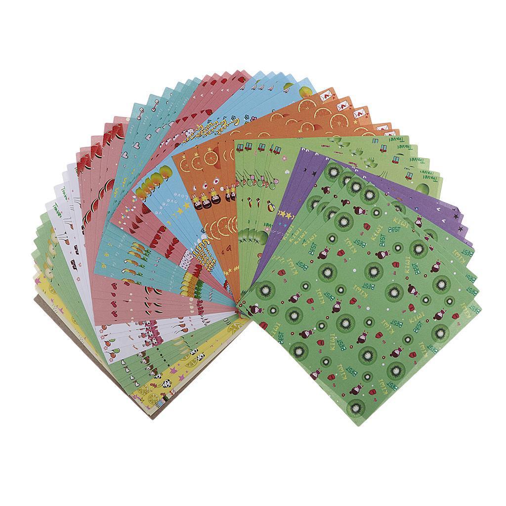 15-Pezzi-Carte-da-Origami-Quadrate-Pennelli-A-Punta-Tonda-Nair-Art-DIY miniatura 12