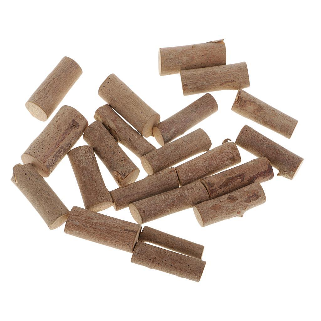 Kids-Crafts-Supply-Accessory-Natural-Wooden-Blocks-Assorted-Painting-Supply thumbnail 3