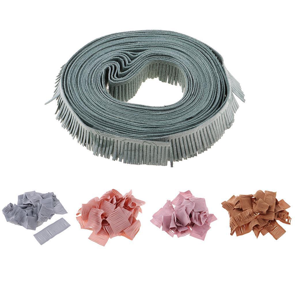 miniatura 4 - 20 pezzi strisce di stoffa banda per fai da te fatti a mano boccioli di