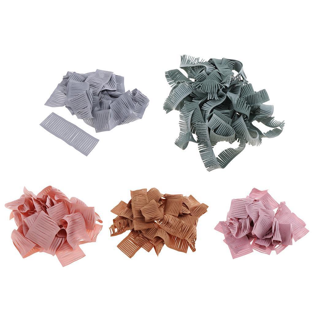 miniatura 5 - 20 pezzi strisce di stoffa banda per fai da te fatti a mano boccioli di