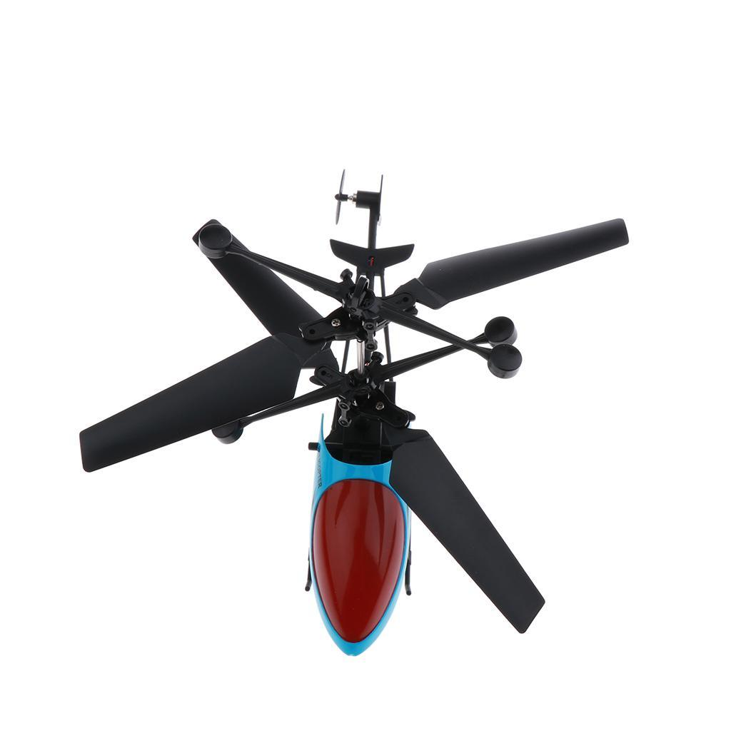 Mini-Helicopter-RC-Drone-Flash-Light-Toys-Outdoor-Airplane-Kids-ABS-Plastic miniature 9