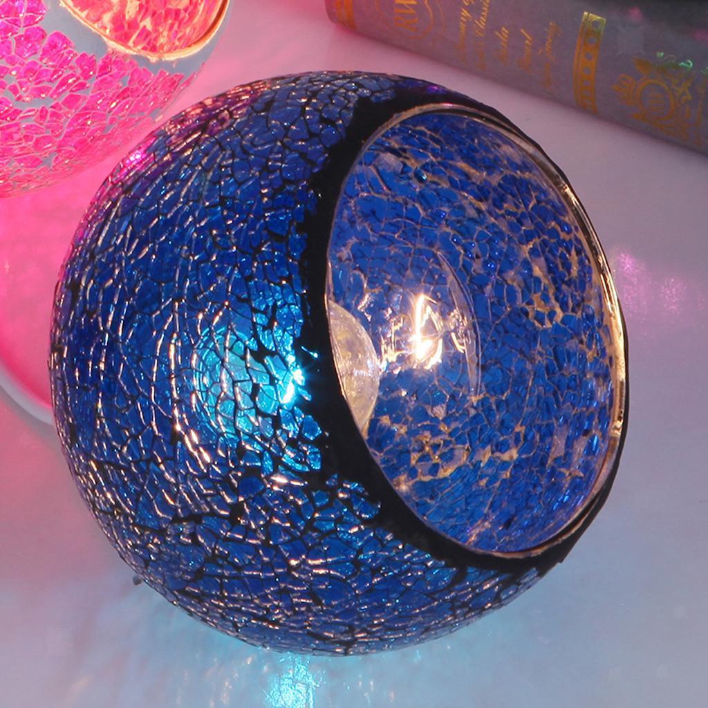 Mosaic-Style-Hanging-Light-Ceiling-Pendant-Lamp-Retro-Lampshade-Cafe-Restaurant thumbnail 52