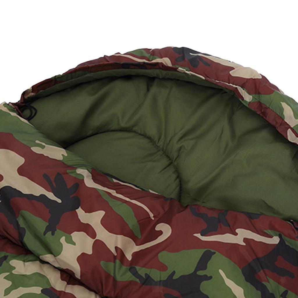 Coure-Sac-De-Couchage-Matelas-de-Plein-Air-Leger-et-Portable-Camping miniature 4