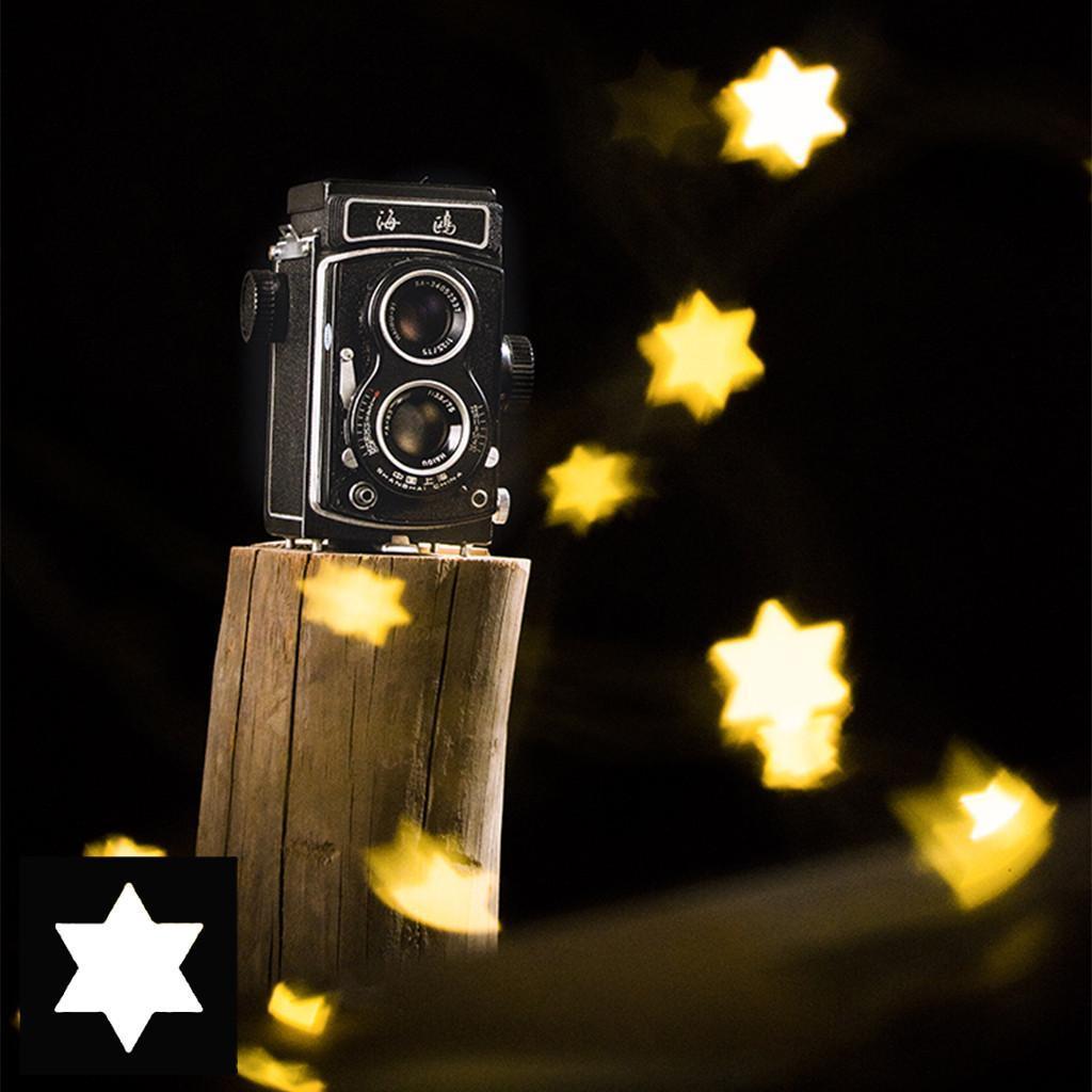 49 55 58 77mm Bokeh Kit Special Effect Lens Filter for Romantic Night Scene 55mm Black