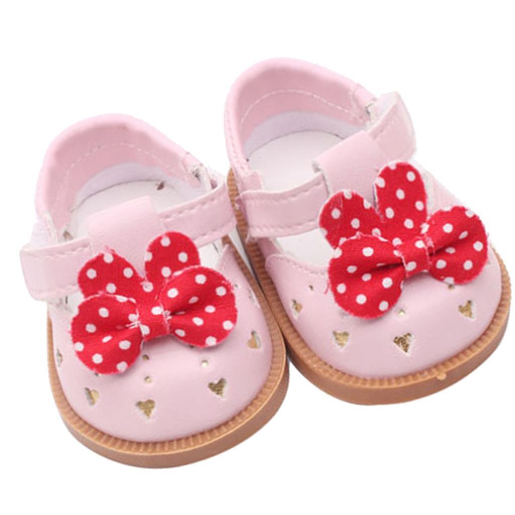 Vetement-de-Poupee-Chaussures-Animes-en-Cuir-PU-Decoration-pour-Poupees miniature 4