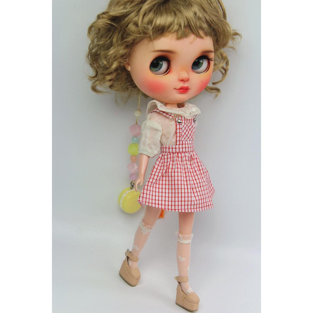 Azone Kleid Momoko 20 Paar Puppen Halbschuhe Für 1//6 Blythe BJD Licca