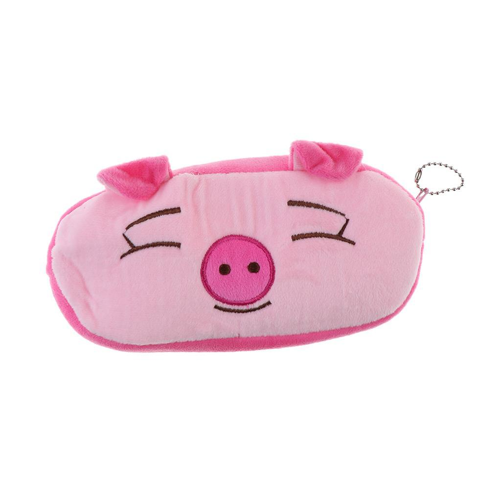 Pencil-Pouch-Plush-Stationery-Bag-Animal-Cosmetic-Bags-School-Supplies thumbnail 12
