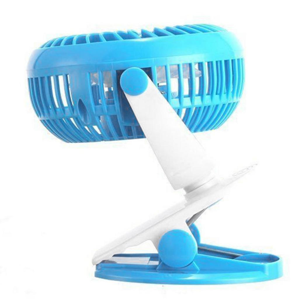 Mini-Portable-USB-Battery-Powered-Fan-Blade-Desktop-Cooling-Fan-for-Stroller miniatuur 7