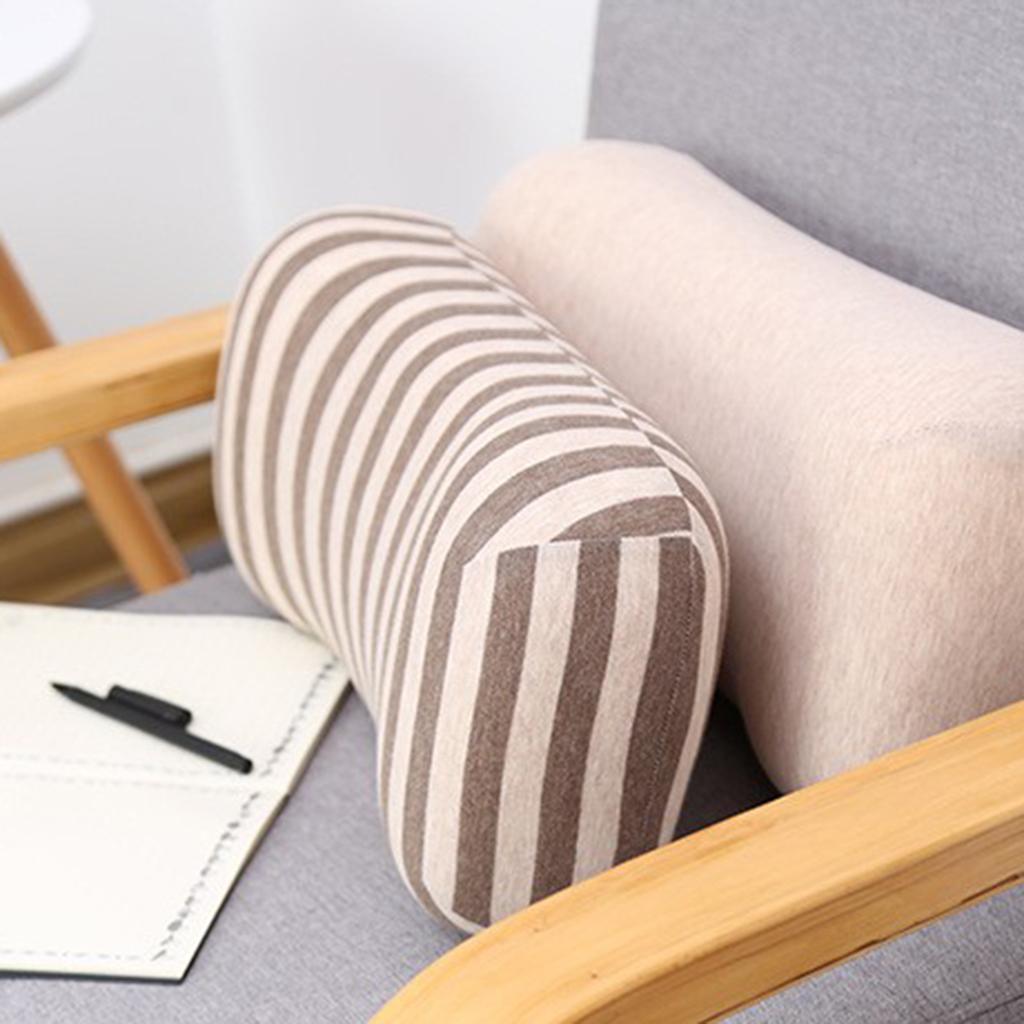 Schiuma-di-memoria-del-cuscino-del-cuscino-del-cuscino-lombare miniatura 15