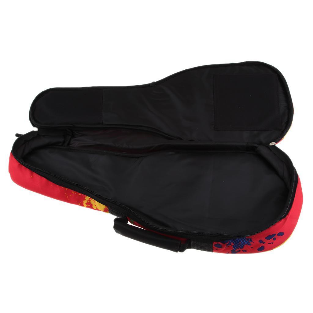 Custodia Borsa Ukulele Gig Bag Nylon Impermeabile 21-23inch