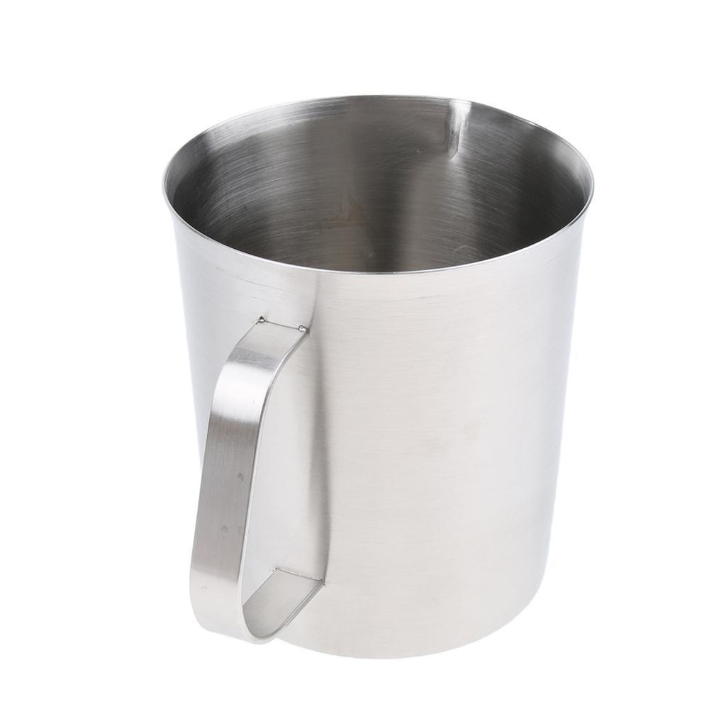 Coppa-Tazza-Tumbler-Abbellimenti-Frullamento-Latte-Cucina-Caffettiera miniatura 7