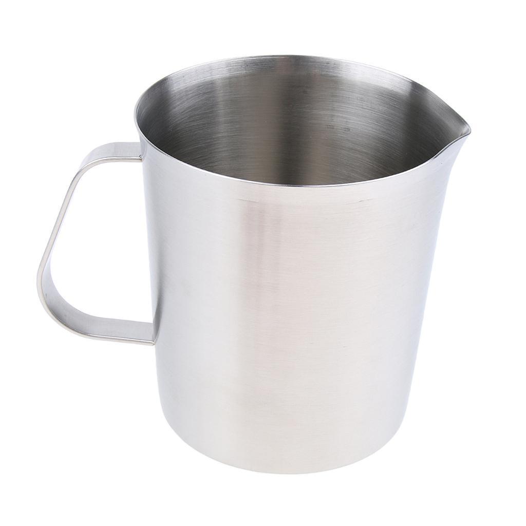 Coppa-Tazza-Tumbler-Abbellimenti-Frullamento-Latte-Cucina-Caffettiera miniatura 8