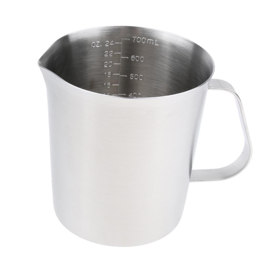 Coppa-Tazza-Tumbler-Abbellimenti-Frullamento-Latte-Cucina-Caffettiera miniatura 9