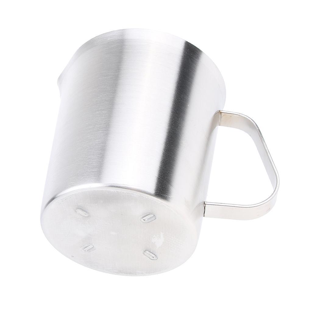 Coppa-Tazza-Tumbler-Abbellimenti-Frullamento-Latte-Cucina-Caffettiera miniatura 10