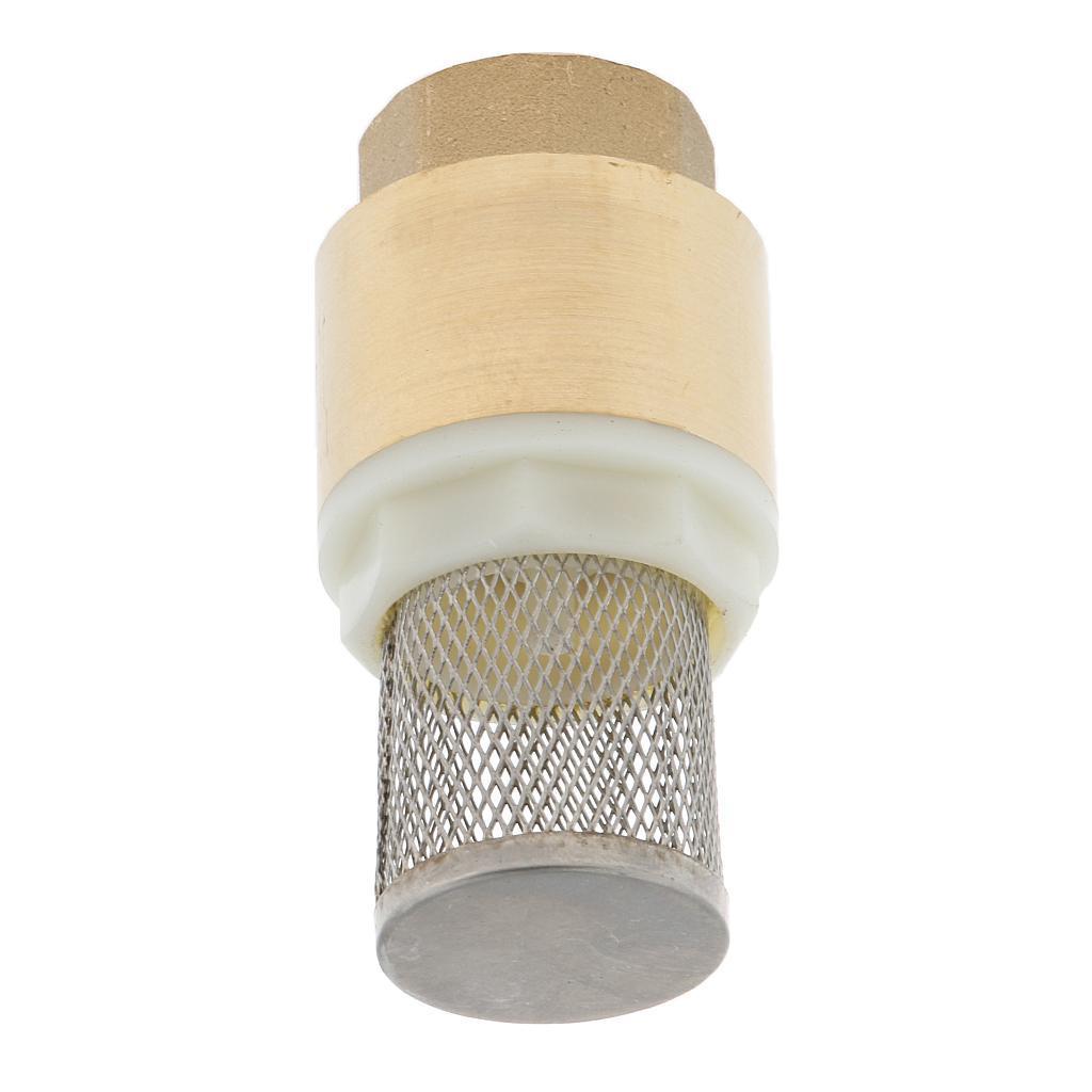 Valvola-Ritegno-A-Rete-Con-Filtro-Water-Valve-Fondo-di-Tubazione miniatura 6