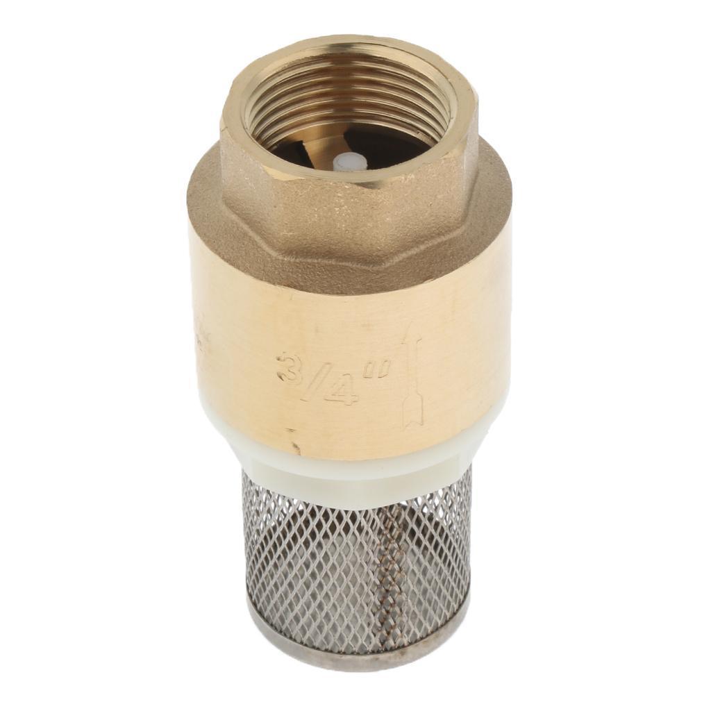 Valvola-Ritegno-A-Rete-Con-Filtro-Water-Valve-Fondo-di-Tubazione miniatura 4
