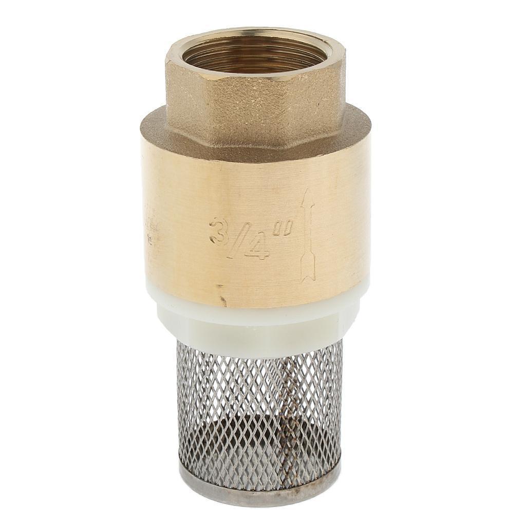 Valvola-Ritegno-A-Rete-Con-Filtro-Water-Valve-Fondo-di-Tubazione miniatura 3