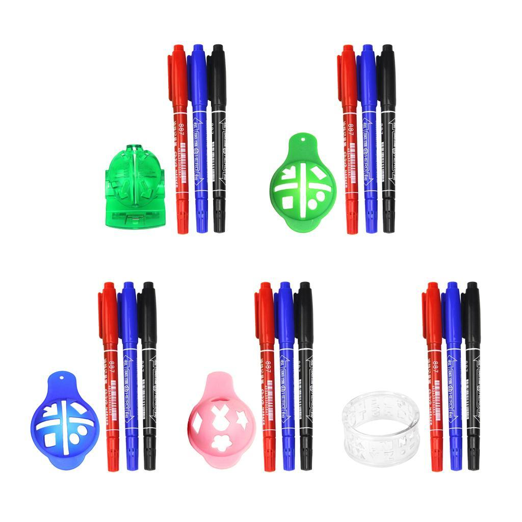 2pcs Lightweight Alloy Golf Ball Marker With Magnetic Hat Clip For