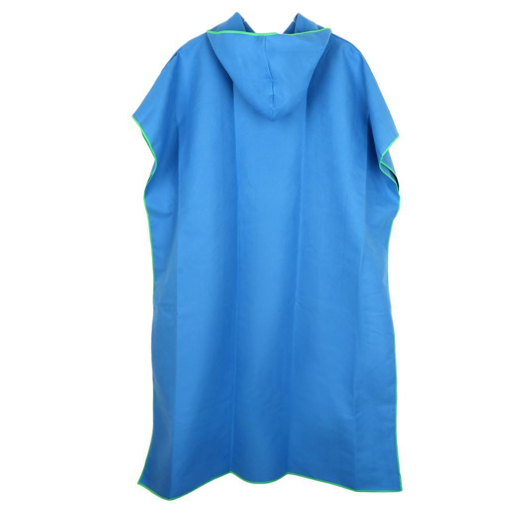 Impermeabile-Poncio-con-Cappuccio-Poncho-Coprizaino-per-Donna-Uomo-Outdoor miniatura 15