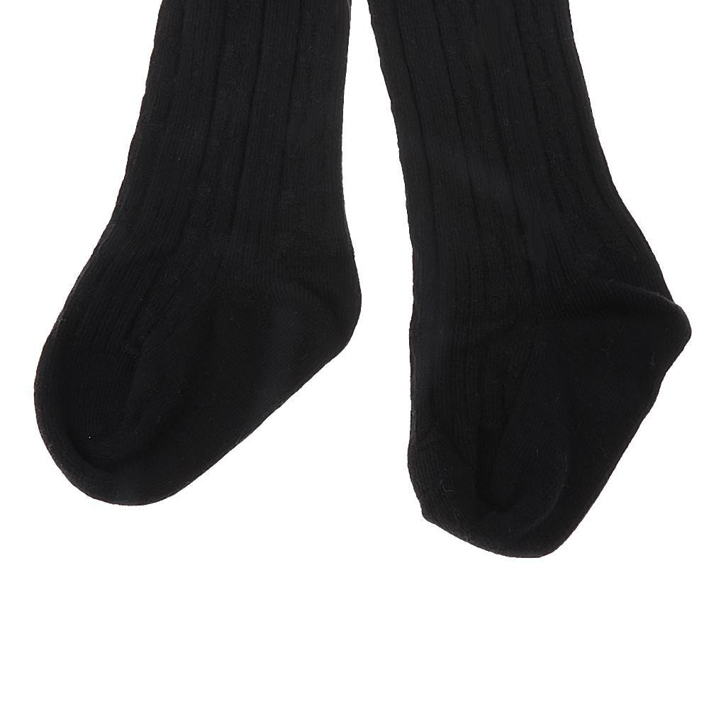 Collants-Bebe-Filles-Hiver-Coton-Tricote-Losange-Elastique-Antiderapant miniature 16
