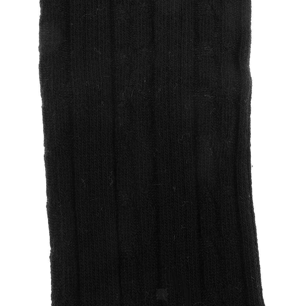 Collants-Bebe-Filles-Hiver-Coton-Tricote-Losange-Elastique-Antiderapant miniature 18