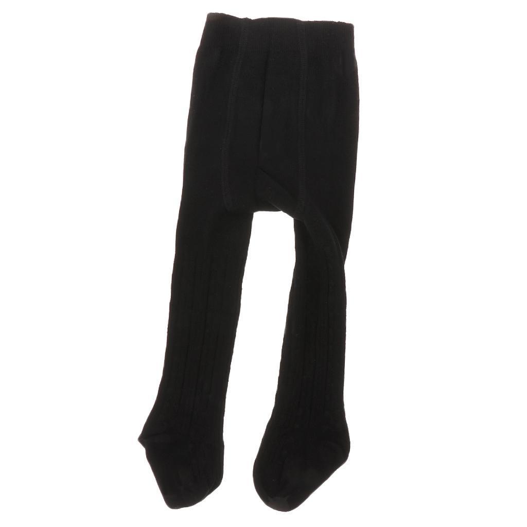 Collants-Bebe-Filles-Hiver-Coton-Tricote-Losange-Elastique-Antiderapant miniature 19