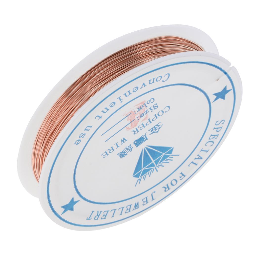 miniature 15 - Fil de cuivre pour la fabrication de bijoux Artisanat bricolage pour le fil
