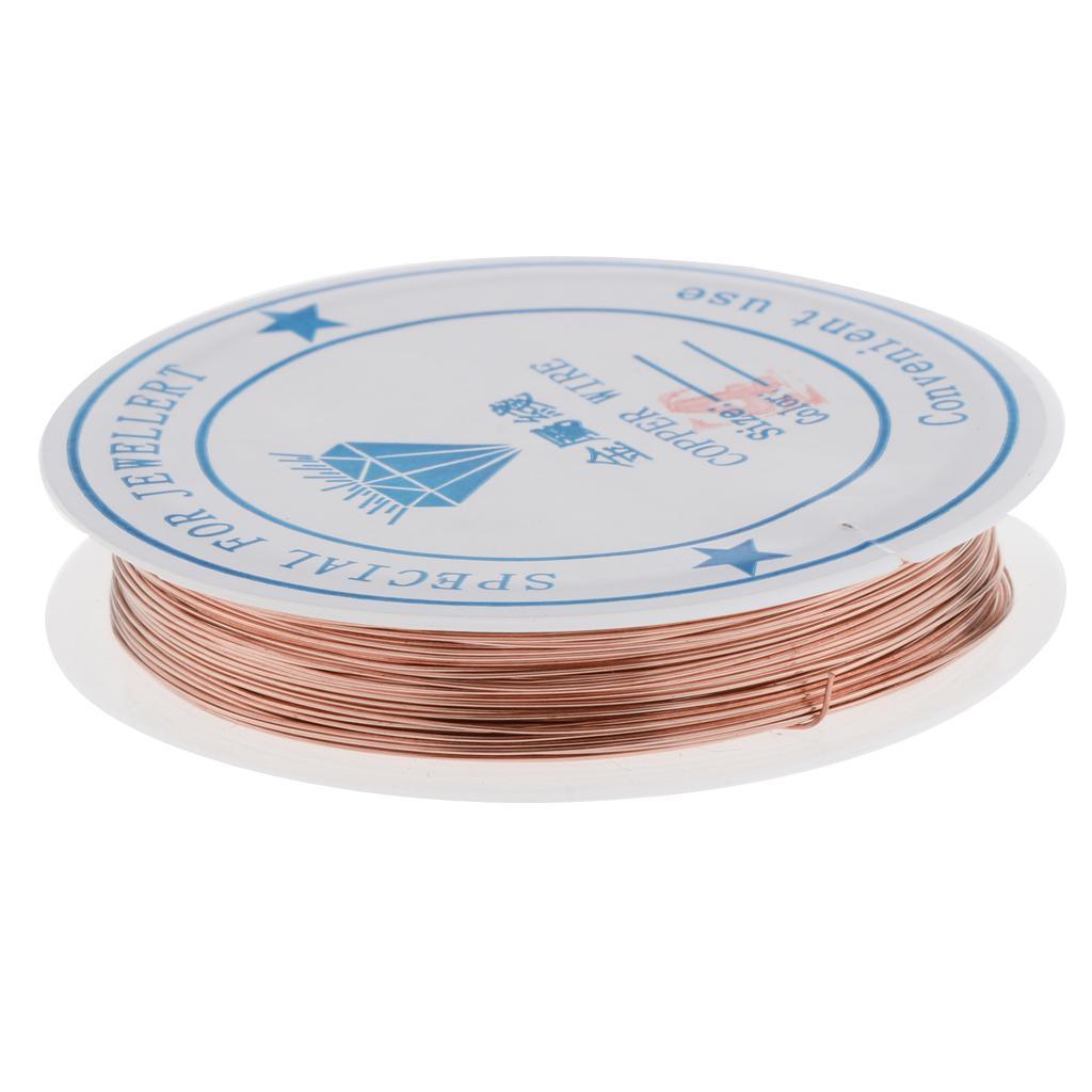 miniature 14 - Fil de cuivre pour la fabrication de bijoux Artisanat bricolage pour le fil
