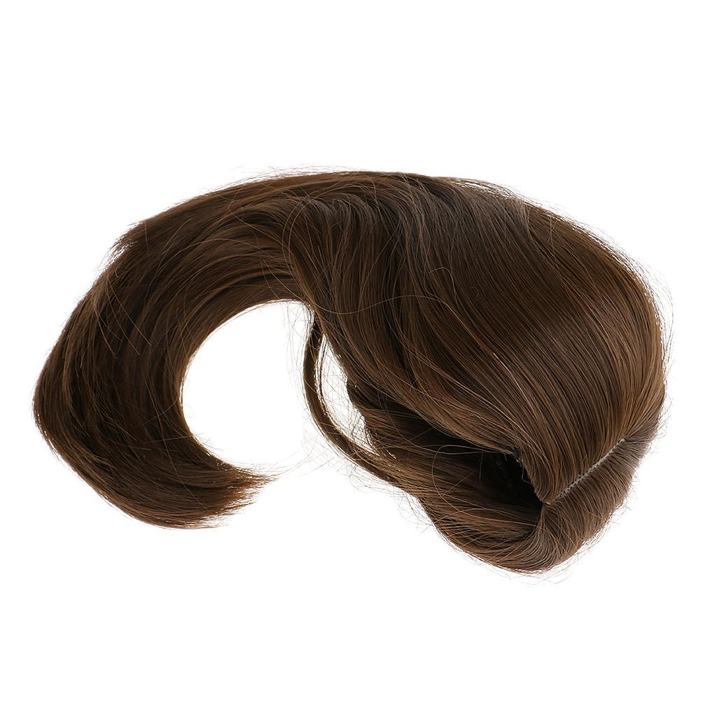 Straight-Gradient-Curly-Hair-Wig-for-18-039-039-Doll-Dress-up-Accessory thumbnail 80