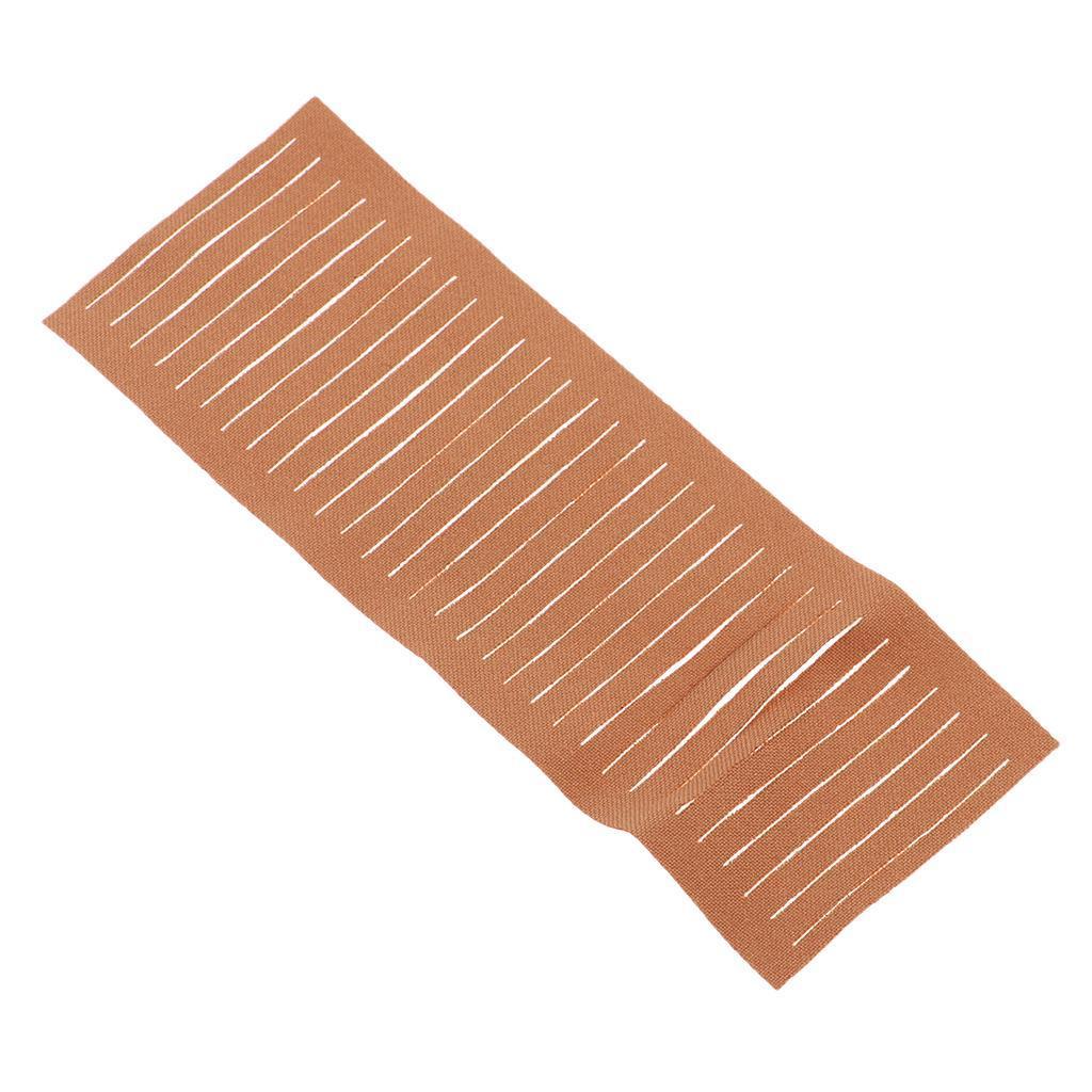 miniatura 10 - 20 pezzi strisce di stoffa banda per fai da te fatti a mano boccioli di