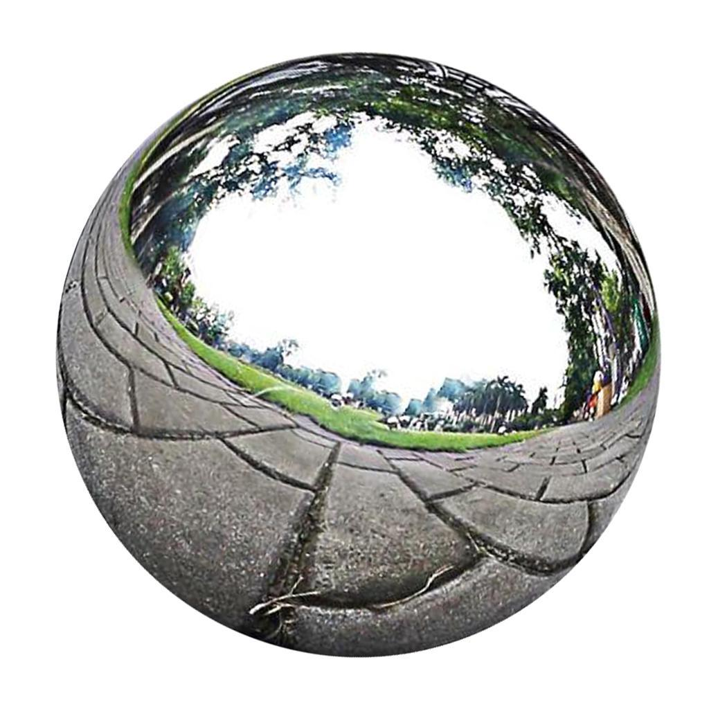 Stainless-Steel Hollow Ball Seamless Ball Mirror Metal Decorative Sphere
