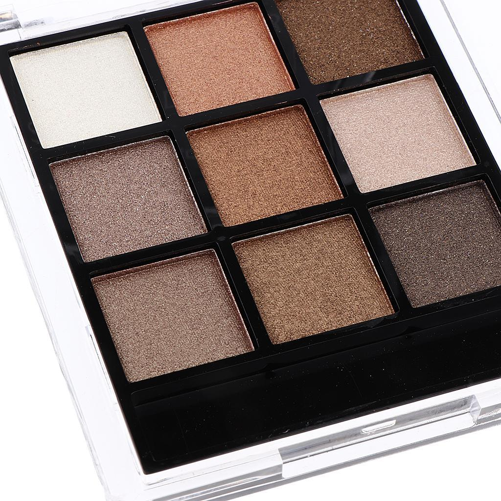 Shimmer Natural Eyeshadow Palette Portable Cosmetics Nude