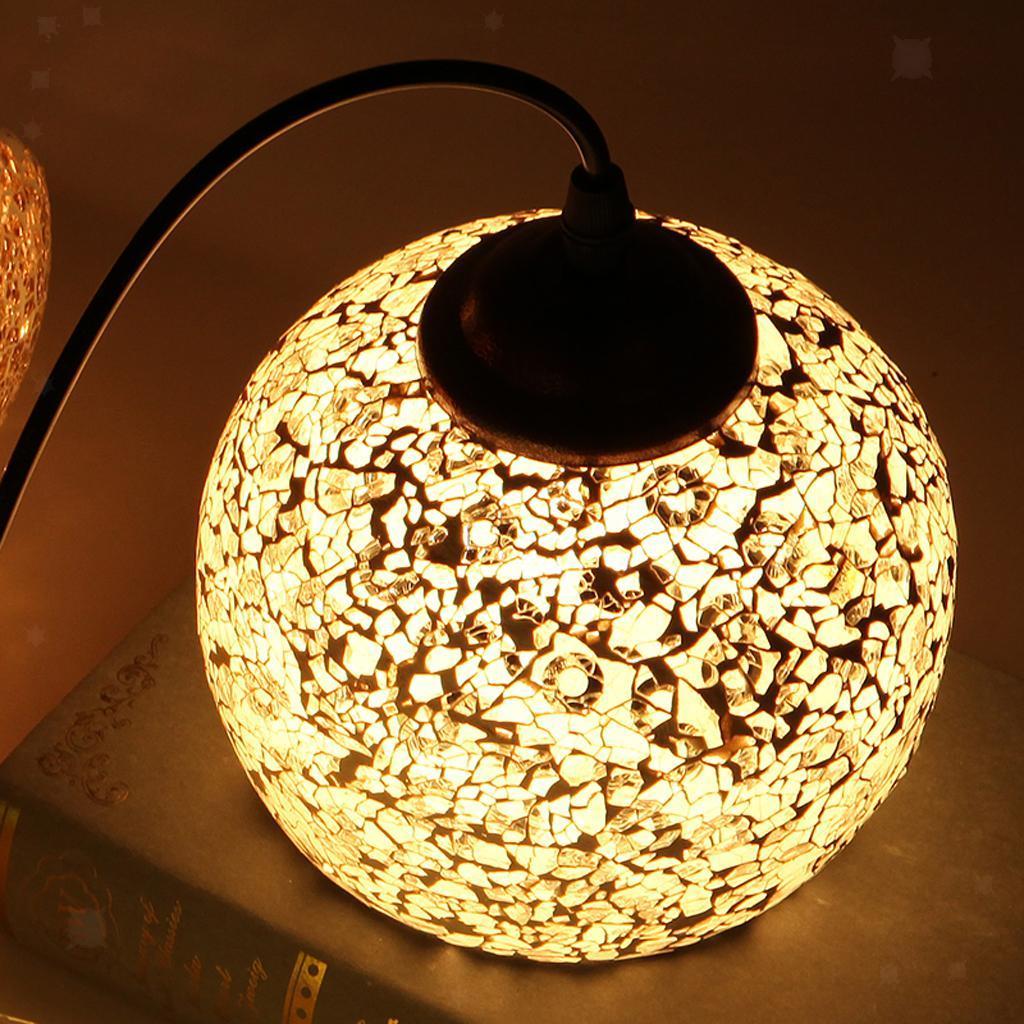 Mosaic-Style-Hanging-Light-Ceiling-Pendant-Lamp-Retro-Lampshade-Cafe-Restaurant thumbnail 58