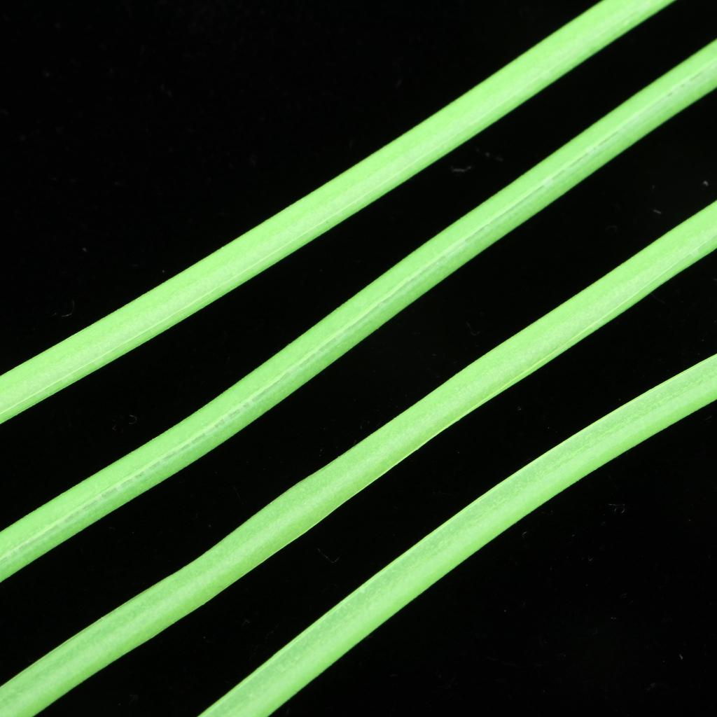 2M Soft Luminous Tube Lumo Glow in the Dark Deep Drop Fishing Tackle TO