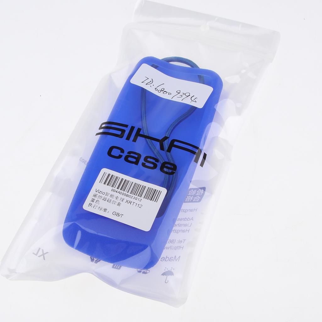 Silicone Rubber Case Cover For TV VIZIO--XRT112 Blue