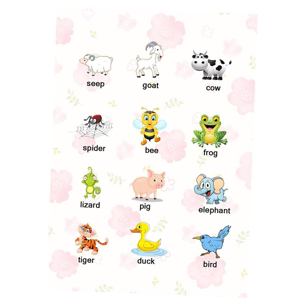 Toddlers-Kids-Fun-Early-Learning-Educational-Posters-Chart-for-Preschoolers thumbnail 8