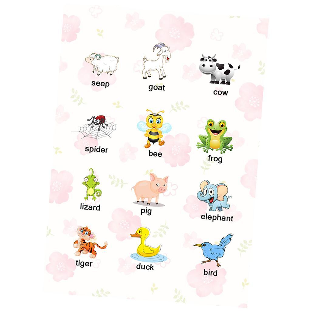 Toddlers-Kids-Fun-Early-Learning-Educational-Posters-Chart-for-Preschoolers thumbnail 9