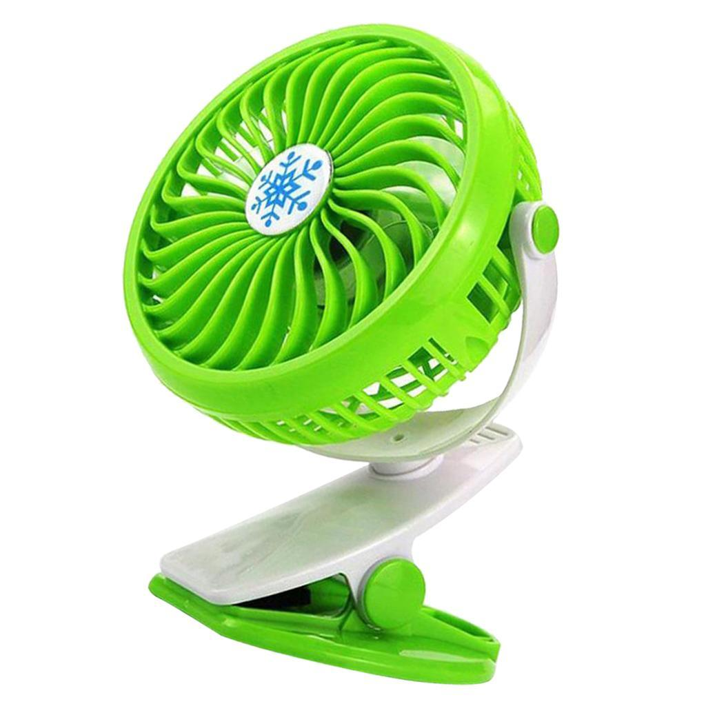 Mini-Portable-USB-Battery-Powered-Fan-Blade-Desktop-Cooling-Fan-for-Stroller miniatuur 9