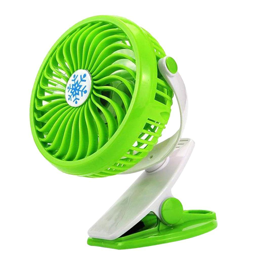 USB-Battery-Operated-Clip-Fan-Mini-Personal-Desk-Stroller-for-Baby-Portable miniatuur 8