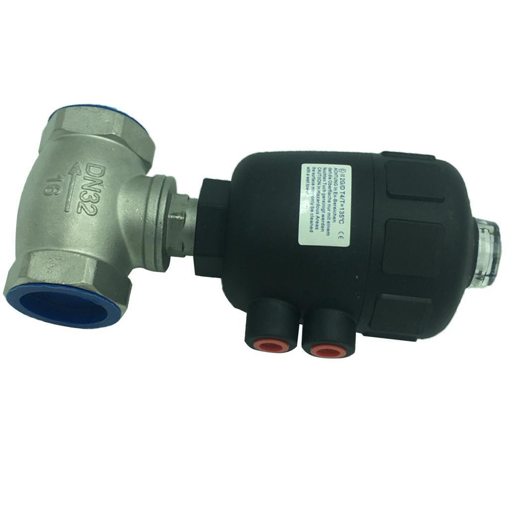 thumbnail 6 - Steel Spigot Faucet Tap Water Oil Barrel Pneumatic Straight-through Valve