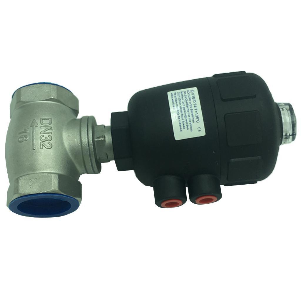 thumbnail 7 - Steel Spigot Faucet Tap Water Oil Barrel Pneumatic Straight-through Valve
