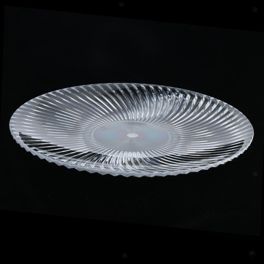 Piatto-Rotondo-Stoviglia-Vassoio-Cucina-Posate-da-Tavola-Play-per-Cibo miniatura 12